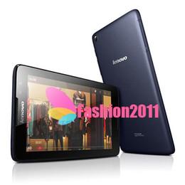 Wholesale Mtk Lenovo - Original Lenovo A3300 3G Phone Call Phablet MTK8382 Quad Core Android 4.2 Tablet PC 1GB 16GB 7'' 1024x600P GPS Bluetooth 4.0 Tablets 002430