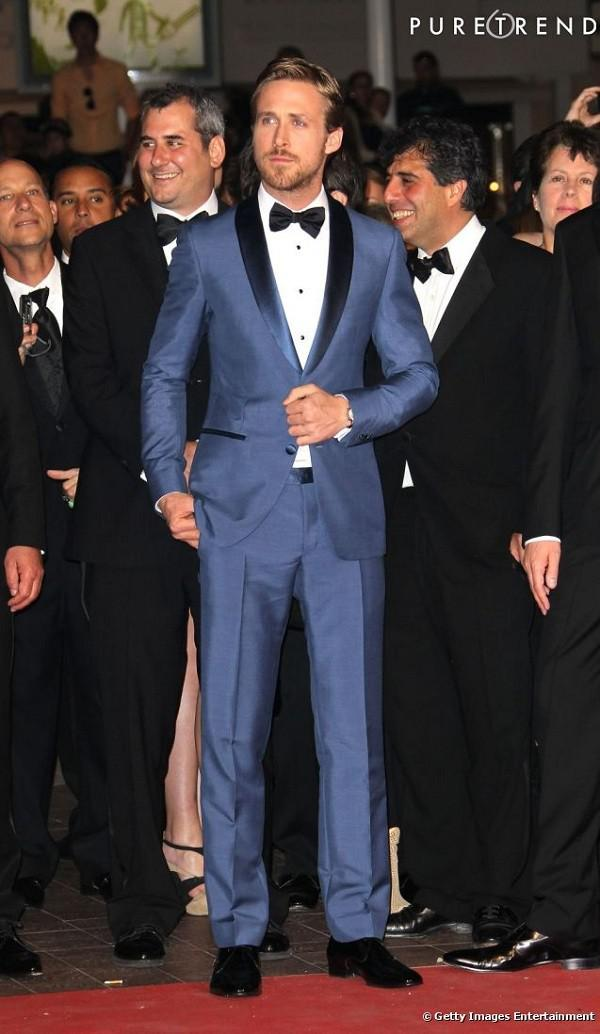 Cheap Mens Grey Tuxedo Pants Discount Groom Wedding Suits Blue Tie