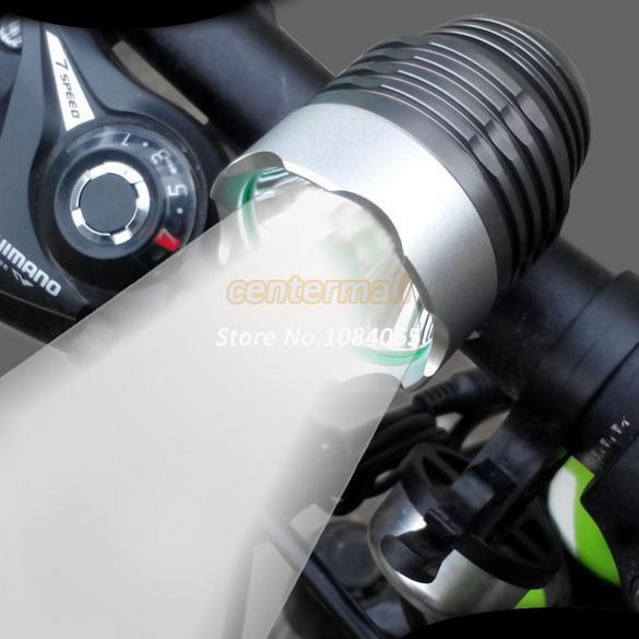 Discount !! 2014 New 1200LM CREE XML T6 LED Bike Light Bicycle Headlight Mountain Bicycle Light #3 SV003296