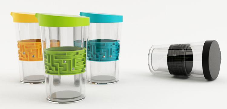 Image result for bottle with a maze