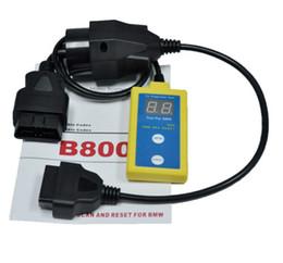 Reajuste del airbag online-B800 Airbag SRS herramienta de diagnóstico OBD2 escáner OBD2 OBDII BMW 20Pin 20 P