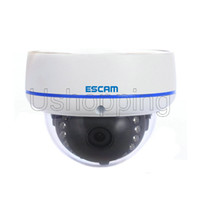 HD 1.0 Megapixel 1280 * 720 IP66 impermeabile P2P IP Camera Dome 1/4