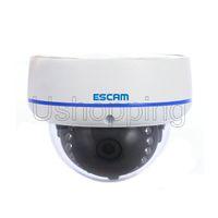 "Wholesale Megapixel Cctv Lens - HD 1.0 Megapixel 1280*720 IP66 Waterproof P2P IP Dome Camera 1 4"" CMOS Onvif 3.6MM Lens IR 10M Network CCTV Camera Support Mobile Detection"