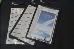 Wholesale Iphone S Aluminum Cases - 12*22 Plastic Clear Zipper Bag Aluminum Foil Retail Package Bags for iPhone 6 Plus 5.5 inch Samsung Galaxy S 3 4 5 Note 2 Mobile Phone Case
