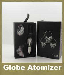 Mejores plumas de cigarrillos electrónicos online-M6 Atomizador Tanque 4.0 ml Clearomizer Mejor Vape Pen Glass Globe Vaporizador Para EGo 650mah 900mah 1100mah Battry Electronic Cigarette ATB004