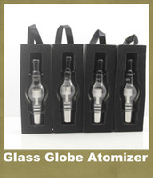 Wholesale E Cigarette Battry - M6 Atomizer Glass Globe Tank 4.0ml Wax Dab Glass Vaporizer Globe Clearomizer For EGo E-cig 650mah 900mah 1100mah Battry E Cigarette ATB002