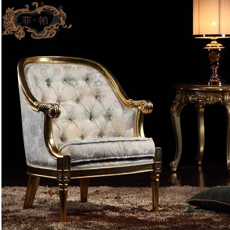 Vardagsrum Klassiska möbler-Klassiska Trä Möbler-Royal Furniture Franska StyleHigh End Möbler Tillverkning- Hemmöbler Gratis frakt