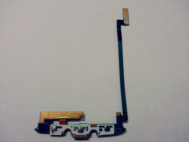 الأصلي شحن شاحن موصل usb ميناء حوض ميكروفون لوحة المفاتيح الأمامية حامل sd sd الكابلات المرنة لسامسونج غالاكسي s4 نشط i9295 i537