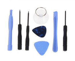 Wholesale Repairs Warranty - Screwdriver Opening Pry Tool Repair Kit Set for iPhone 5G 5S 5C 4 4S 4G for ipad for ipod Free hkpost dropshipping for 12 months warranty