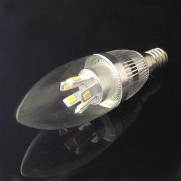 Wholesale E14 Candle Led 7w - High power 7W E12 E14 Led Candle Light Lamps AC220V 110V 85-265V SMD5630 Led Bulb Lamp Lighting