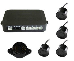 Wholesale Auto Steps - Simple Parking Sensor No Display PZ200 PZ330 Four Sensors Auto Car Camera Three Step BiBi Sound Easy to Install