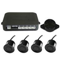 Wholesale Parking Alarm - simple parking sensor alarm by three-step bibi sound Car Reversing Aid four sensors multiple color NO monitor