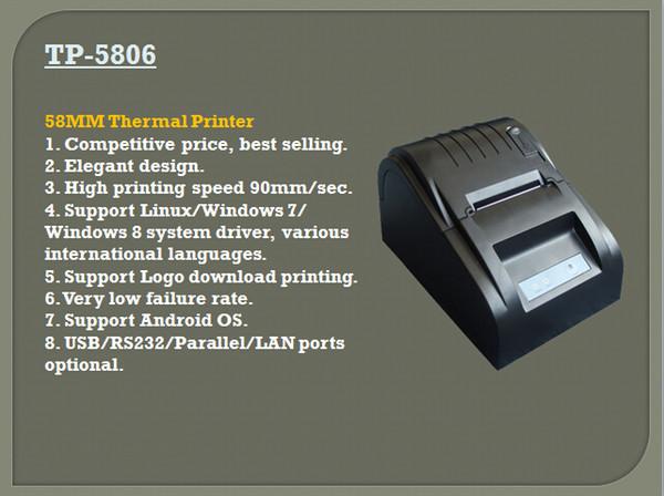 TP-5806 Bill Drucker Thermische Mechanismus 58 MM Breite