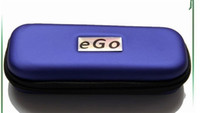 Wholesale Ego Ce5 Case Color - Ego carrry case e cig leather bag Small Medium Large size Multi color zipper box for ego t evod battery ce4 ce5 ce6 h2 ecig starter kits DHL