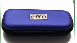 Wholesale Ego T Ce6 Case - Ego carrry case e cig leather bag Small Medium Large size Multi color zipper box for ego t evod battery ce4 ce5 ce6 h2 ecig starter kits DHL