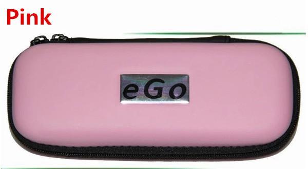 Ego carrry case e cig bolsa de couro Pequeno Médio Grande tamanho Multi color zipper caixa para ego t evod bateria ce4 ce5 ce6 h2 ecig starter kits DHL