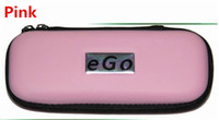 Wholesale Ego T Small - Ego carrry case ecig leather bag Small Medium Large size Multi color zipper box for ego t evod battery ce4 mt3 kits DHL