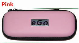 Wholesale Ego Small - Ego carrry case ecig leather bag Small Medium Large size Multi color zipper box for ego t evod battery ce4 mt3 kits DHL