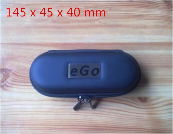 Ego carrry case e cig bolso de cuero pequeño medio tamaño grande multi color caja de cremallera para ego t evod batería ce4 ce5 ce6 h2 ecig starter kits DHL