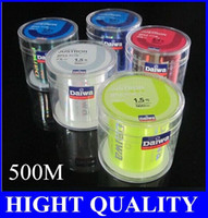 Wholesale 500 m fishing line imported from Japan the rocky road line nylon thread the line number of the developed tile line off latest