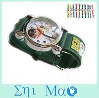 Wholesale Tens Shop - Wholesale-OP-20% off Cartoon Ben 10 ten Child Girls Kids Wrist Watch 10 Colors Analog fashion watches wristwatch Free Shipping & Drop shop