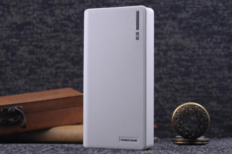 Export the high-end brand power bank 20000mah, usb charger, mobile phone computer LED flashlight 18560 spare batteries