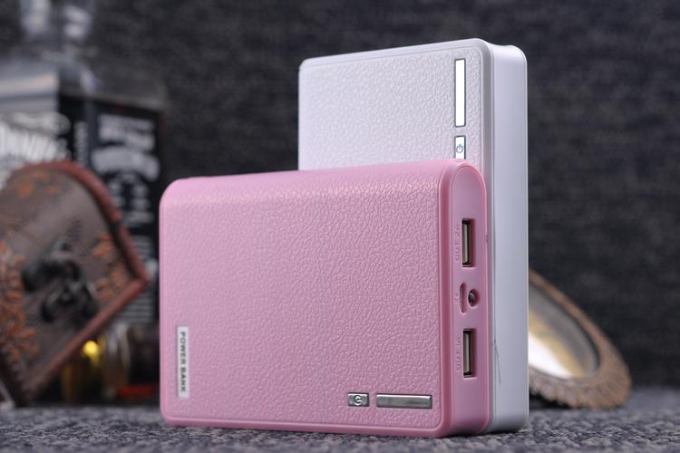 Eksport High-End Marka Bank Power 20000MAH, ładowarka USB, telefon komórkowy LED Latarka LED 18560 zapasowe baterie