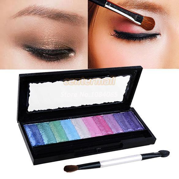 2014 New Hot Baked Eyeshadow Palette Glitter Pro Makeup Cosmetics