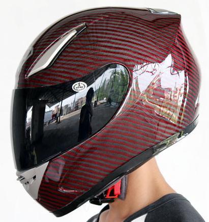 Super Light 100% Carbon Fiber Motorcycle Helmet for Racing YOHE-911