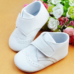 Wholesale Export Shoes - Promotion 1pair PU Leather First Walkers antislip boy Shoes,Exported Europe Crib soft shoes,Super Quality Infant Toddle footwear