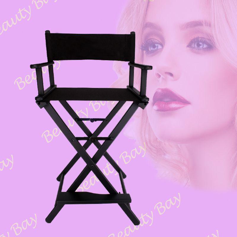 Portable Aluminum Director Chair, Black Foldable Nylon Fabric With Aluminum  Frame Salon Makeup Chair, Sliver Black Color Offered Aluminum Chair  Foldable ...