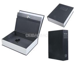 Wholesale Black Dictionary - Dictionary Security Cash Money Diversion Secret Stash Safe Box Black Size M #gib