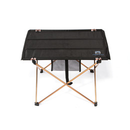 high quality aluminium alloy ultralight portable folding table foldable outdoor camping picnic desk 690g h11599 - Picnic Tables For Sale