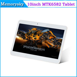 Wholesale Cheapest 3g Phablet - 10inch MTK6572 Dual Core Tablet PC Android 4.4 tablet 1G 16GB WI-FI Bluetooth Dual SIM 3G GPS Phablet Dual Cameras cheap tablet pc 002432
