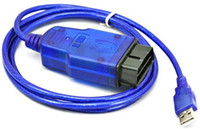 Wholesale interface chip usb online - For Opel Tech2 USB Car Diagnostic Cable Blue Color FTDI Chip For Opel Tech2 Scanner USB Interface