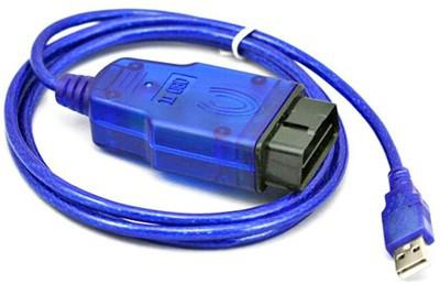For Opel Tech2 USB Car Diagnostic Cable Blue Color FTDI Chip For Opel Tech2 Scanner USB Interface