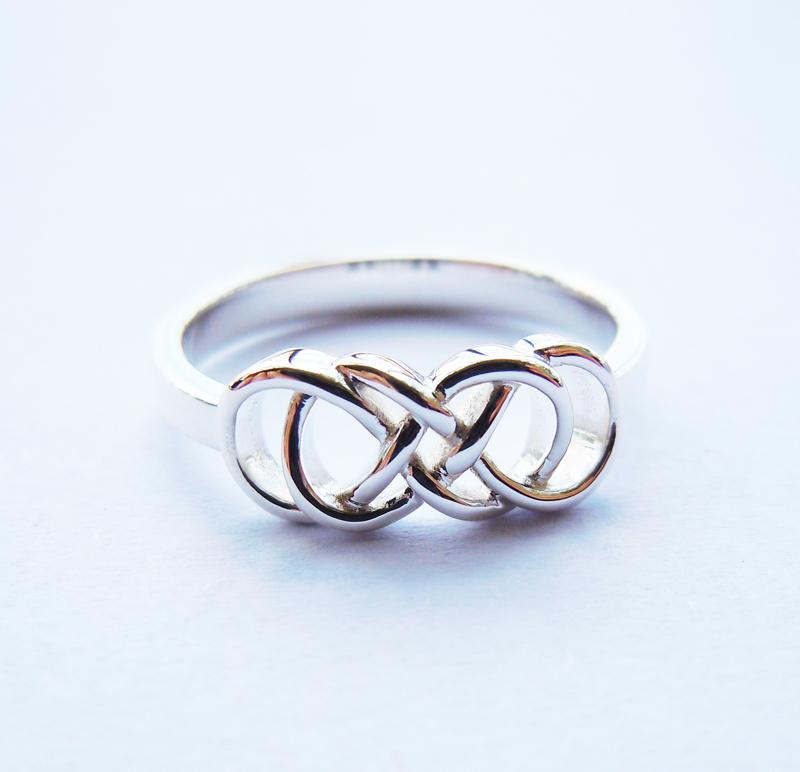 cubic halo silver more ring views sterling double zirconia infinity