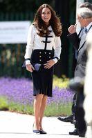 Wholesale Kate Middleton Fashion Style - Fashion Kate Middleton Princess Dress Elegant Color Block Long Sleeve Work Dresses 1103