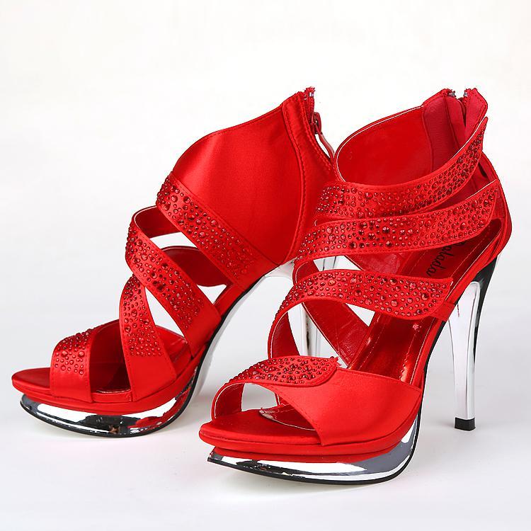 Nefis Yeni Düğün Ayakkabı Elbise SA 20 için Shoes Sığ Yüksek Topuk Gelin Ayakkabı yüksek topuklu