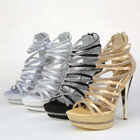 Wholesale Kitten Heel Wedding Shoes Gold - Exquisite New Summer Wedding Shoes High-Heeled Shoes Shallow High Heel Bridal Shoe for Dresses SA23