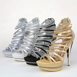 Wholesale kitten heel dress shoes - Exquisite New Summer Wedding Shoes High-Heeled Shoes Shallow High Heel Bridal Shoe for Dresses SA23