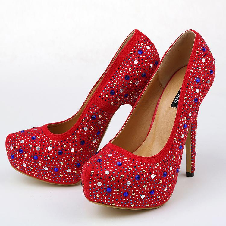 Mode Nya Sommar Bröllop Skor Högklackat Skor High Heel Bridal Shoe för Prom Dresses Sy041