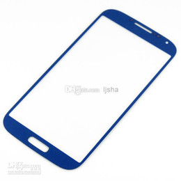 Wholesale S3 Mini Front Cover - OEM Front Outer Glass Lens Screen Digitizer For Samsung Galaxy S2 S3 i9300 S III S4 I9500 S5 S4 Mini Touch Screen Cover