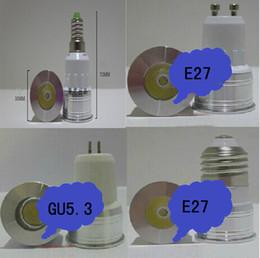 E14 led vermelho on-line-E27 mini led lâmpada LED holofotes 1 W 3 W 35mm de diâmetro GU10.3 E14 iluminação de casa Lâmpadas LED Branco Quente Azul Vermelho Amarelo 85-265 V Nova Chegada