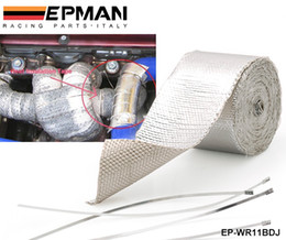 Wholesale Insulation For Cars - Tansky - High Quality Heat Shield Wrap Tape for Car intake intercooler pipe Reflective Insulation (Silver) EP-WR11BDJ
