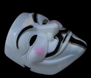 Wholesale Explosion models V For Vendetta Anonymous Movie Guy Fawkes Vendetta Mask Halloween adult size