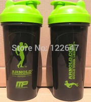 Wholesale Protein Powder Bottle - Wholesale-OP-New Arnold Shaker FREE SHIPPING Quality shaker bottle ,protein powder mixing Bottle , Sports Bottle 800ML