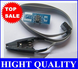 Wholesale Ic Chips Sale - NEW SOIC8 SOP8 flash chip IC Test Clips socket adpter BIOS 24 25 93 programmer original hot sale free shipping