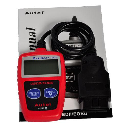 MS309 OBD2 CAN Scanner MS309 Can OBD 2 OBDII EOBD Car Auto Code Reader KW806 Scanner Diagnostic Tools