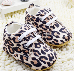 Wholesale Leopard Toddlers Boots - Thickened leopard baby boots baby shoes toddler shoes soft bottom baby shoes